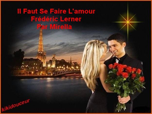 Il Faut Se Faire L'amour Frédéric Lerner Par Mirella