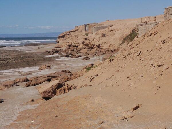 Nous voilà dans les dunes