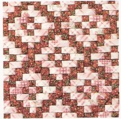 sac en patchwork tissé