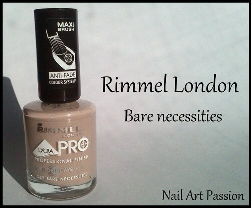 Rimmel London - Bare necessities !