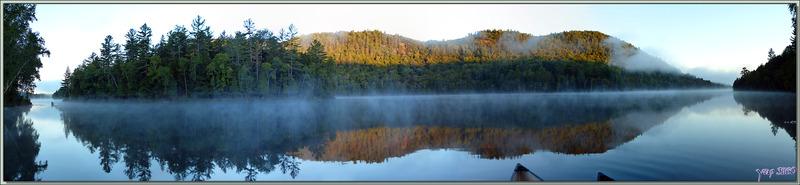 Lever de soleil sur le Petit Lac Preston - Duhamel - Outaouais - Québec - Canada