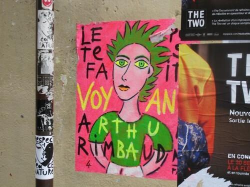 Rimbaud voyant street-art