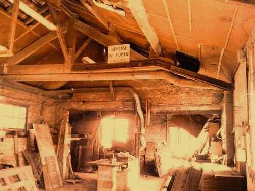 Le vieil atelier...