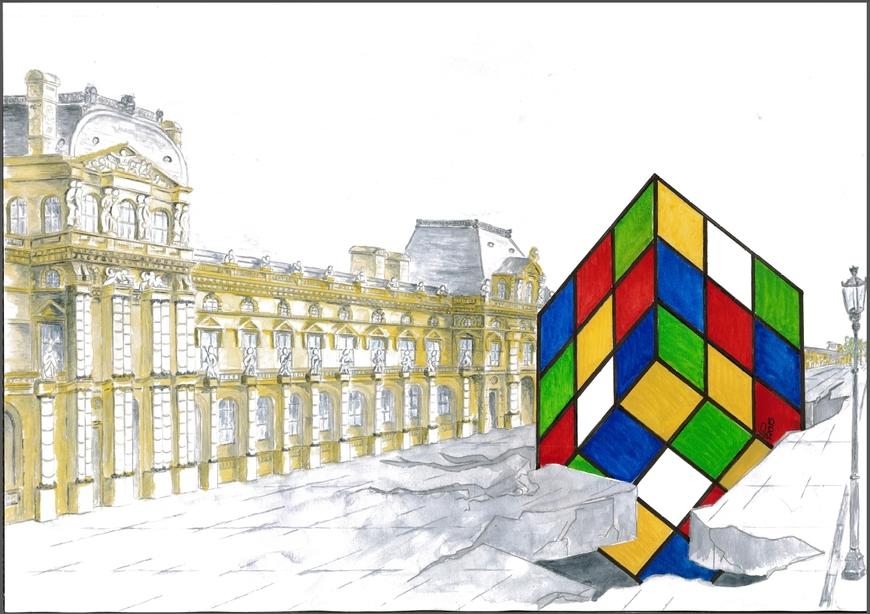 * COULEURS * Le Cube²