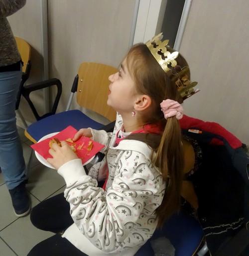 Les bénévoles des Restos du coeur de Châtillon sur Seine ont partagé la galette des Rois avec leurs généreux donateurs