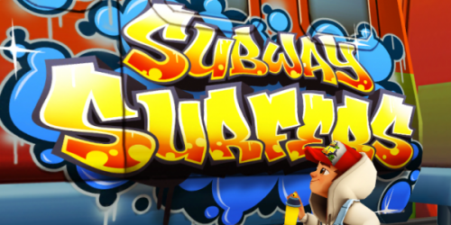 Subway surf , jeu gsm/tablette
