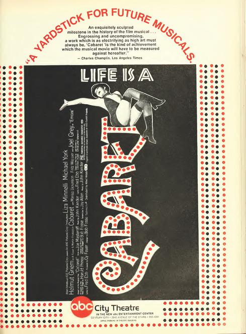 BOX OFFICE USA DU 10/02/1972 AU 16/02/1972