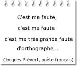 Erreur / Faute