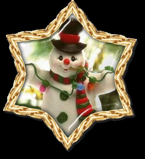 Médaillons de Noël  ( ou  cadres )