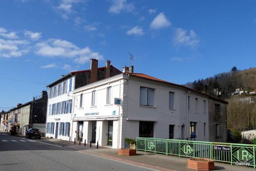 Labastide Rouairoux: l'église