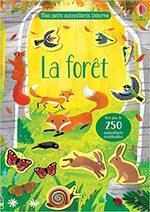 Mes petits autocollants Usborne - La forêt