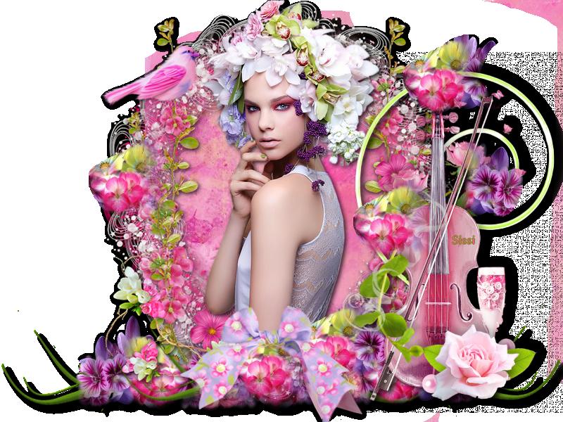 * Femme Fleurs  *