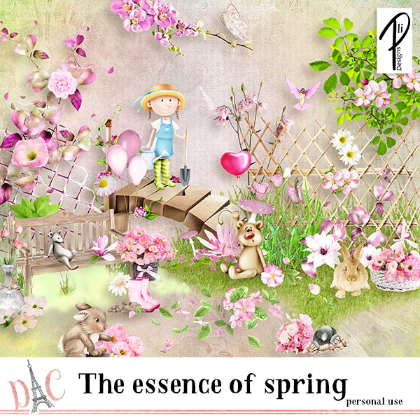 The essence of spring (PU) PliDesigns