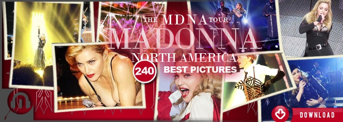 The MDNA Tour - North America Best Pictures
