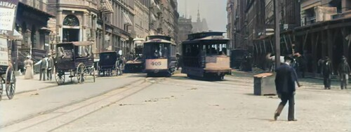 21 OLD FILMS FROM 1895 TO 1902 COLORIZED AND UPSCALED IN 60 FPS (Voyages)