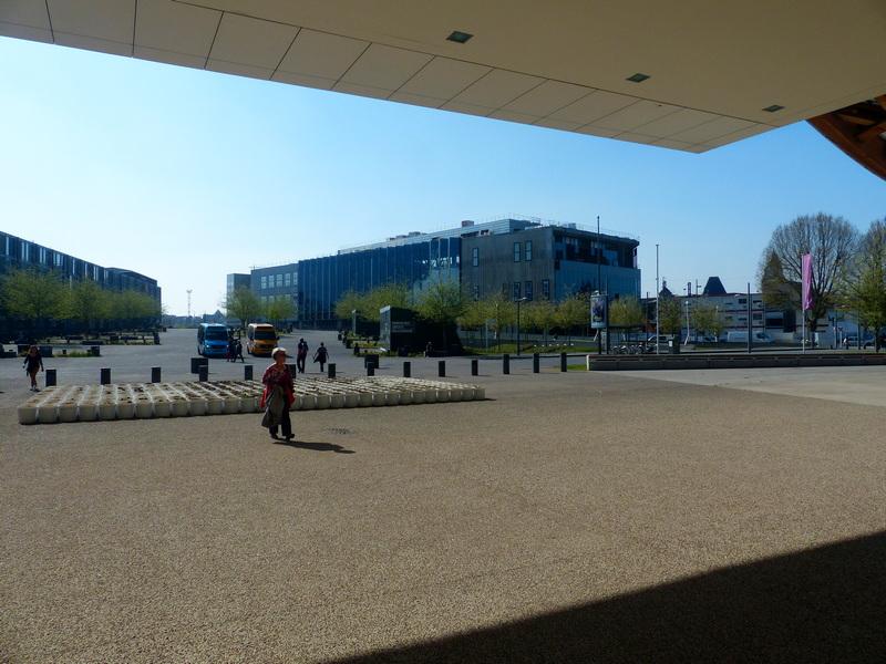 Photos de Marc de Metz au centre Pompidou et autour....