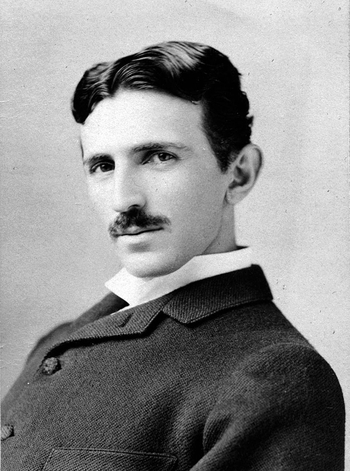 Nikola Tesla (photo Sarony)