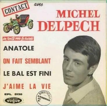 Michel Delpech, 1963