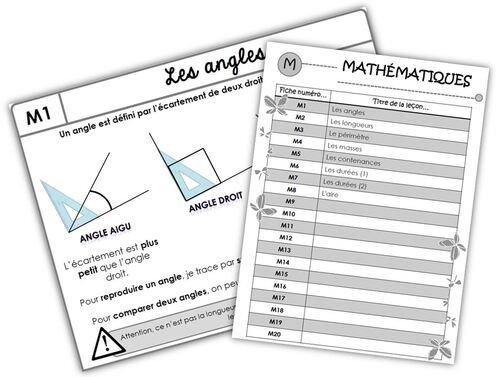 CM - Mathématiques - Traces écrites