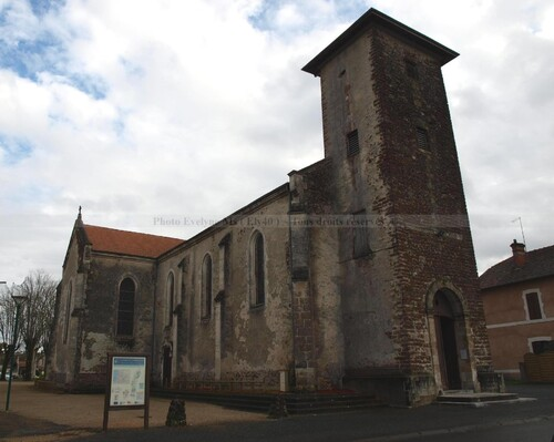 l'Eglise St Jacques de Labouheyre