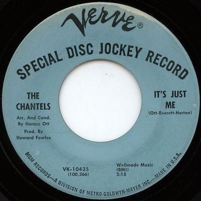 THE CHANTELS - it's just me