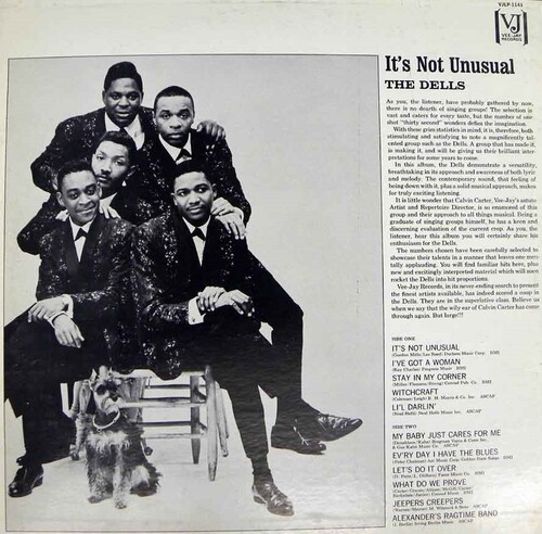 "The Dells : Album "" It's Not Unusual "" Vee Jay Records VJLP 1141 [ US ] en 1965"