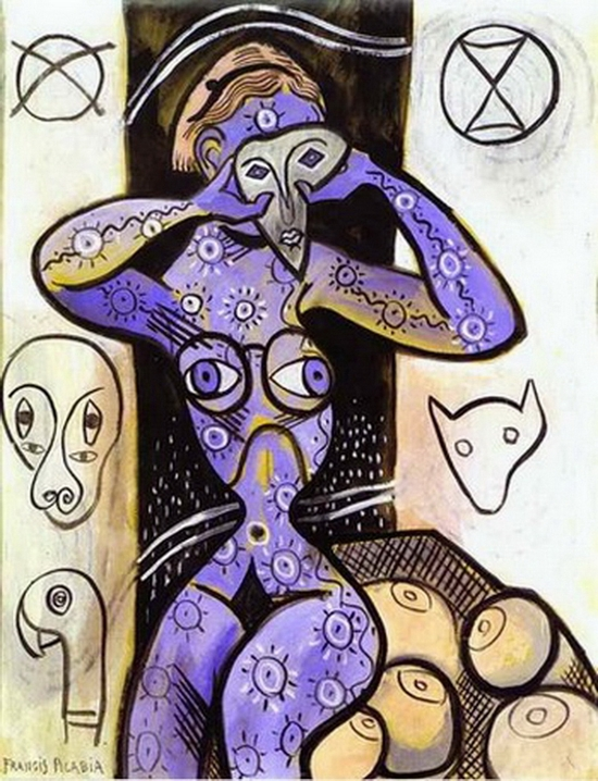 Francis Picabia, Les seins, 1924-1927