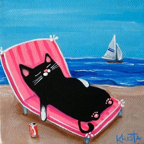 cats à la mer