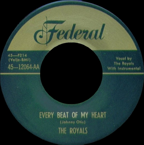 "Hank Ballard & The Midnighters : CD "" The Royals  Every Beat Of My Heart The Federal Singles "" SB Records DP 122 [ FR ]"