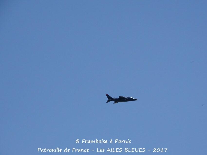 Pornic, LES AILES BLEUES - Patrouille de France - 2017