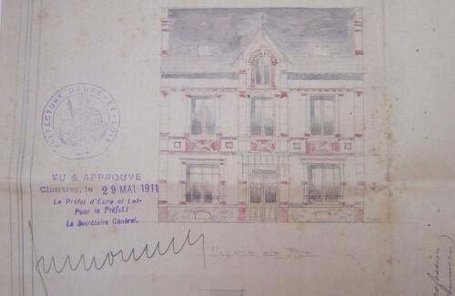 La Poste : les bâtiments