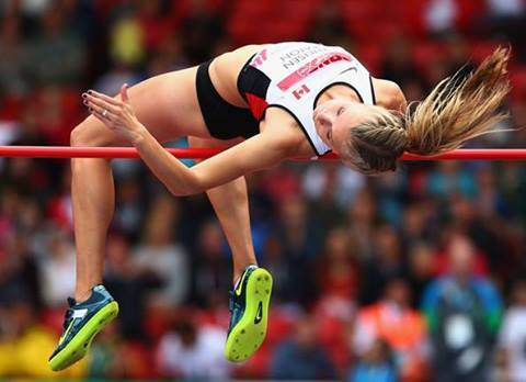 RESULTS OF THE COMMONWEALTH GAMES 2014 GLASGOW, UK 30th July 2014 WOMEN HEPTATHLON RANK ATHLETE NATION RESULT 1 Brianne Theisen-Eaton Can 6597  2 Jessica Zelinka Can 6270  3 Jessica Taylor Eng 5826  4 Sophie Stanwell Aus 5754  5 Salcia Slack Jam 5718  6 Jessica Tappin Eng 5695  7 Grace Clements Eng 5512  8 Shianne Smith Ber 5187  9 Katy Sealy Biz 4661  10 Anny Oyono Oyono Cmr 4048  11 Dee-Ann Kentish-Rogers Aia 3633  Makeba Alcide Lca DNF  PB = Personal Best