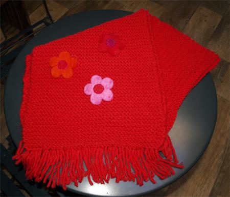 Une première écharpe