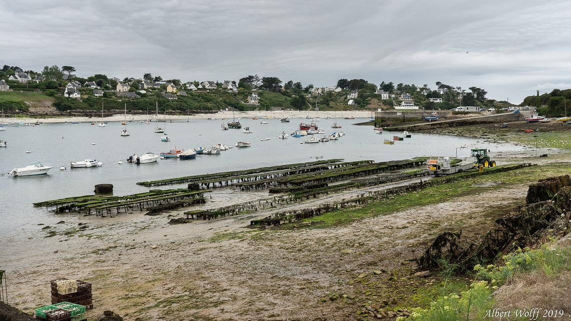 Finistère 2019 : Port et  pointe du Vihl