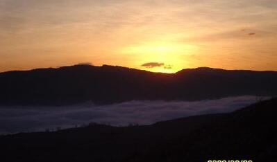 Coucher de soleil au Col de Vence