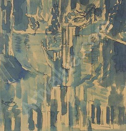 * Avec Frantisek Kupka, du portrait à l'abstraction...