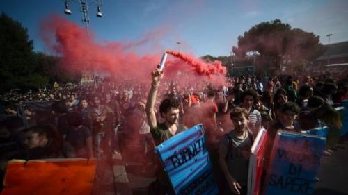 L'Europe descend dans la rue pour protester contre l'austérité