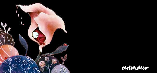 design camaieu fleuri