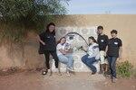 fontaine financée par l'association Djebelya à l'école de Ouarmdaz