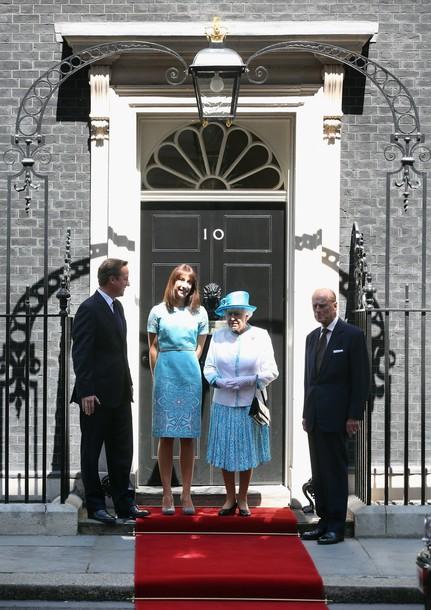Elizabeth et Philip invités