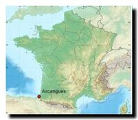 Situation nationale d'Arcangues