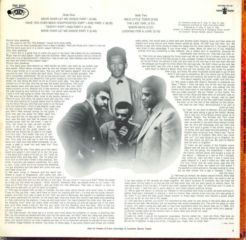 "The Isley Brothers & Jimi Hendrix : Album "" In The Beginning "" T-Neck Records TNS 3007 [ US ]"