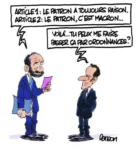 Les Actualités sur Macron !