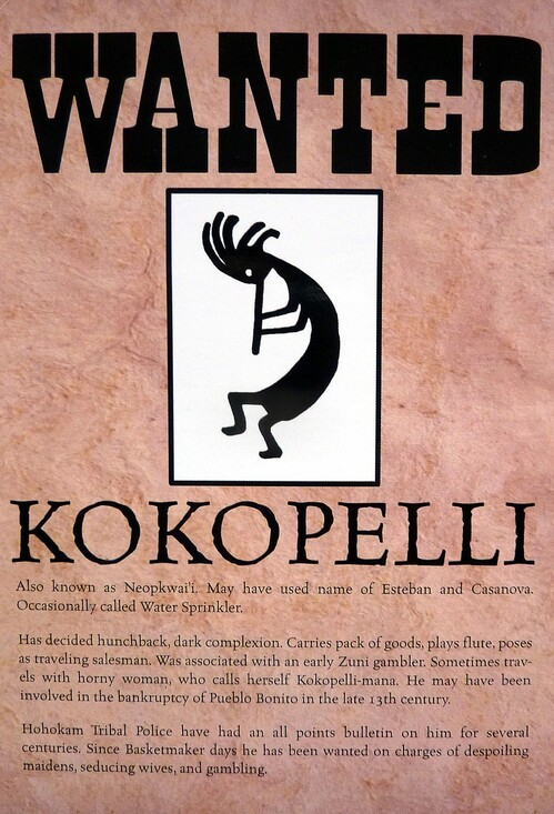 Wanted Kokopelli