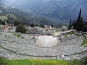 Apollon à Delphes