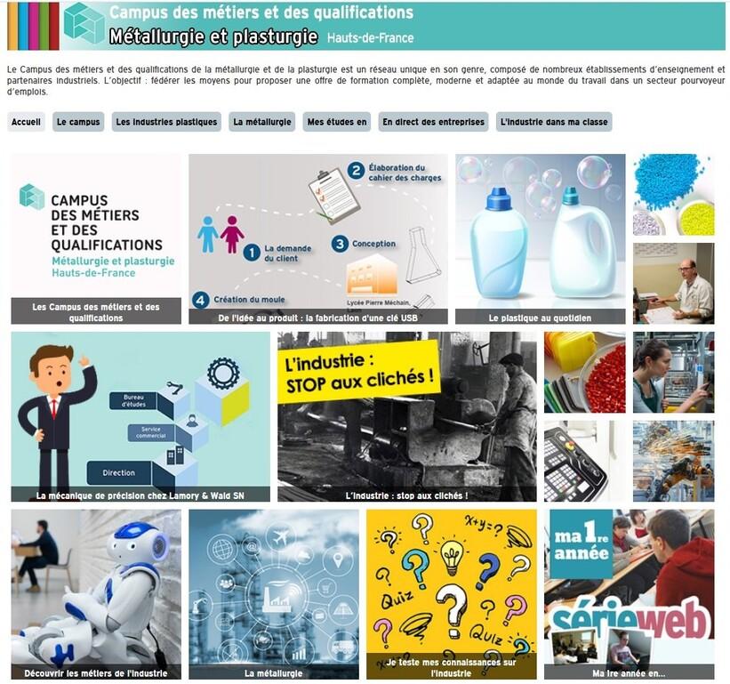 Campus des métiers : former des jeunes aux besoins du secteur de la métallurgie-plasturgie