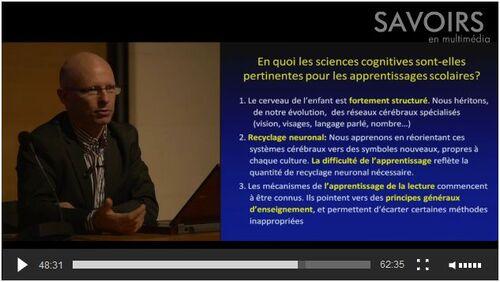 La lecture et les neurosciences