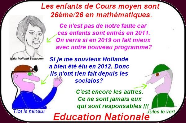L'éducation au font du trou, Fillon fait le ménage, les bleuettes en finale etc.. ce sont les infos à ne pas rater.