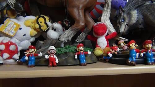 Les figurines nintendo