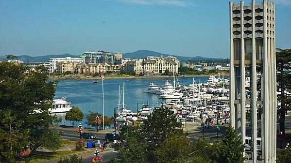 Jour 24 Victoria musée vue sur Inner Harbour)